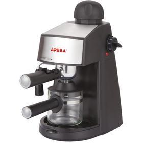 Кофеварка ARESA AR-1601, рожковая, 800 Вт, 0.24 л, чёрная