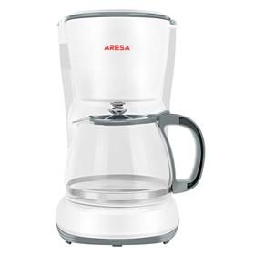 Кофеварка ARESA AR-1608, капельная, 750 Вт, 1.25 л, белая
