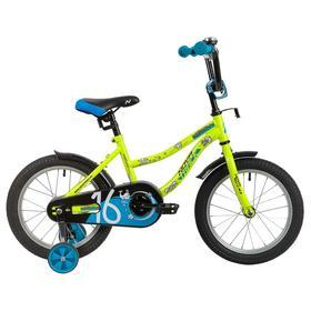 """Велосипед 16"""" Novatrack Neptune, 2020, цвет салатовый"""