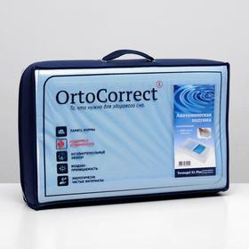 Ортопедическая подушка OrtoCorrect Termogel XL Plus с гелевой вставкой 58х38, валики 12/14