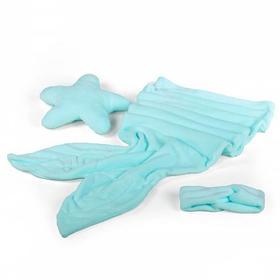 Мягкая игрушка-комплект «Сны русалки», цвет тиффани , 175х50 см