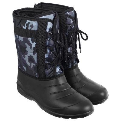 Сапоги зимние «Аляска» мужские, цвет чёрный, на шнуровке, размер 44/45 - Фото 1