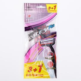 Набор Dorco PACE3 3 станка + 1 в подарок, 3 лезвия