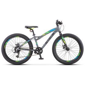 Велосипед 24' Stels Adrenalin MD, V010, цвет антрацитовый, размер 13,5' Ош
