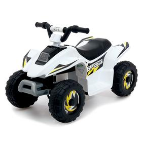 Электромобиль «Квадроцикл», цвет белый Ош
