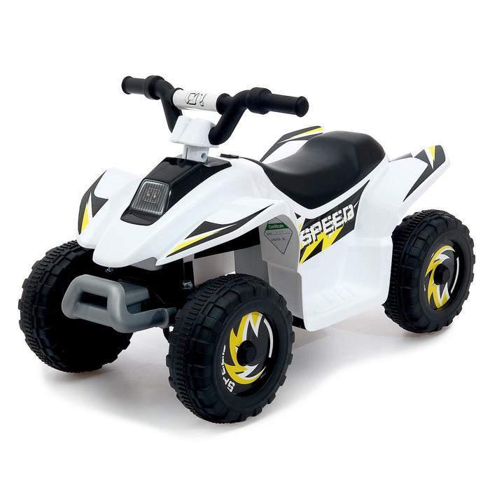 Детский электромобиль Квадроцикл, цвет белый
