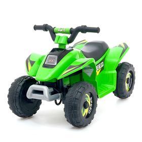 Электромобиль «Квадроцикл», цвет зелёный Ош