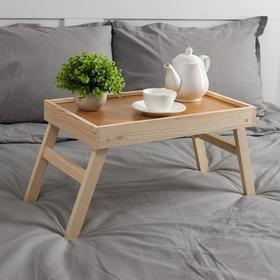 Столик для завтрака складной, 50×30см Ош