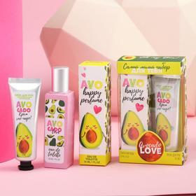 Набор: парфюм 30 мл и крем для рук 30 мл Avocado LOVE