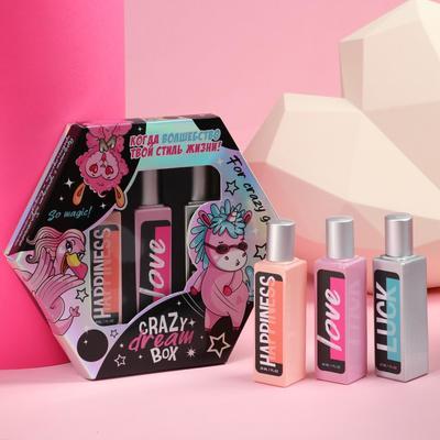 Набор парфюма 30 мл Crazy dream box, 3 шт. - Фото 1