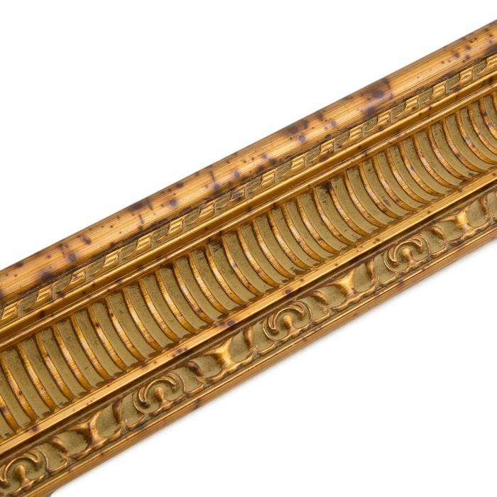 Багет Треви, золото, ширина 100 мм, длина 2980 мм
