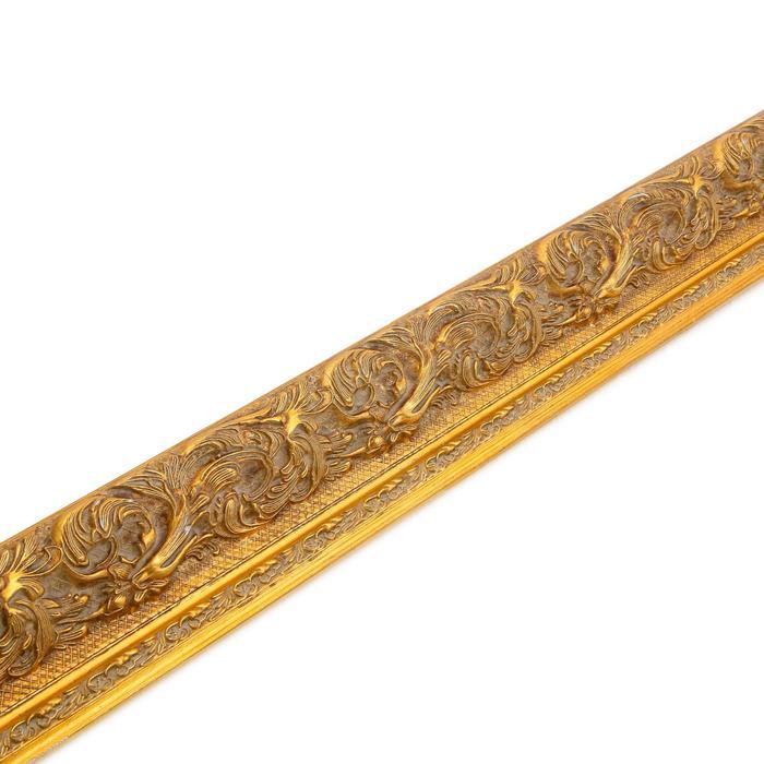 Багет Лувр, золото, ширина 90 мм, длина 2980 мм