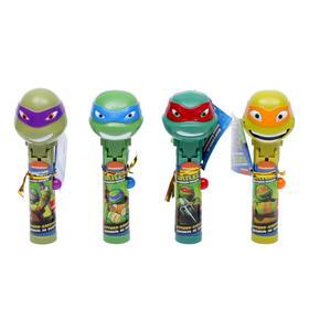 Карамель на палочке «Черепашки Ниндзя», с игрушкой-хлопушкой, микс