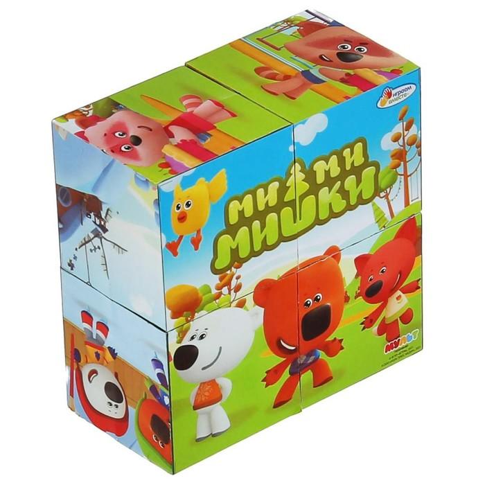 Набор из 4-х кубиков Ми-Ми-Мишки
