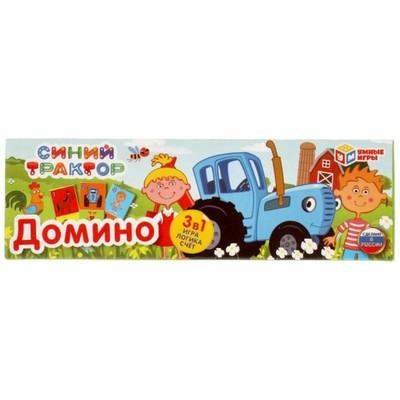 Домино 3в1 «Синий трактор» - Фото 1