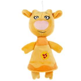 Мягкая игрушка «Корова Зо» Оранжевая корова, 21см, музыкальная