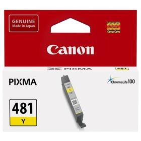 Картридж струйный Canon CLI-481 Y 2100C001 желтый для Canon Pixma TS5140/6140/8140/8540
