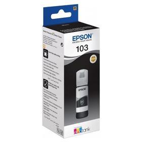 Картридж струйный Epson 103BK C13T00S14A черный для Epson L3100/3110/3150 (65мл)