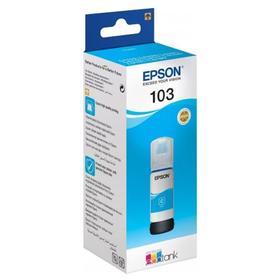 Картридж струйный Epson 103C C13T00S24A голубой для Epson L3100/3110/3150 (65мл)