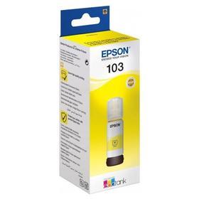 Картридж струйный Epson 103Y C13T00S44A желтый для Epson L3100/3110/3150 (65мл)