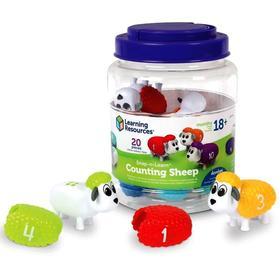Развивающая игрушка «Разноцветные овечки», 20 элементов