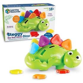 Развивающая игрушка «Стегозаврик», 11 элементов