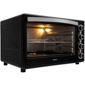 Мини-печь AVEX TR 600 BCL, 2200 Вт, 60 л, 100-250°С, гриль, чёрная