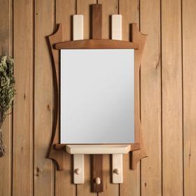 Зеркало резное комбинированное Ош