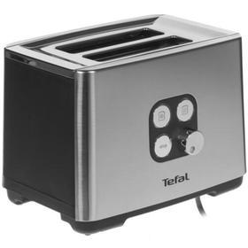 Тостер Tefal TT420D30, 900 Вт, 2 тоста, 7 режимов, белый