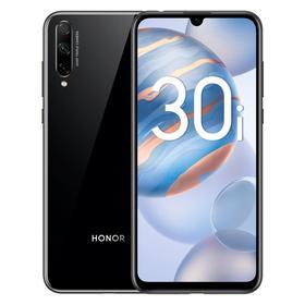 """Смартфон Honor 30i, РСТ, 6.3"""", OLED, 4Гб, 128Гб, 48Мп, 4000мАч, NFC, чёрный"""