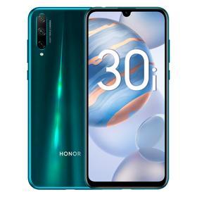 """Смартфон Honor 30i, 6.3"""", OLED, 4Гб, 128Гб, 48Мп, 4000мАч, NFC, голубой"""