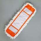 Насадка для плоской швабры Доляна, 40×12 см, микрофибра, цвет МИКС - Фото 2