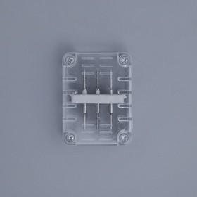 Коннектор для дюралайта 11*18 мм, 3W, прямой Ош