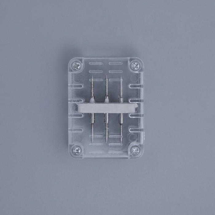 Коннектор для дюралайта 1118 мм, 3W, прямой