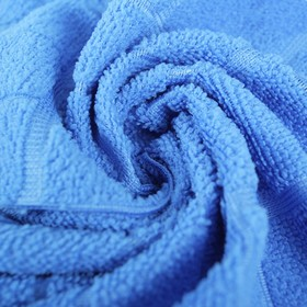 Тряпка для мытья пола Доляна «Клетка», 30×30 см, 200 г/м2, цвет МИКС Ош