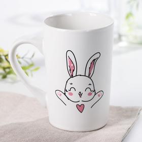 Кружка Доляна «Обьятья зайца», 380 мл