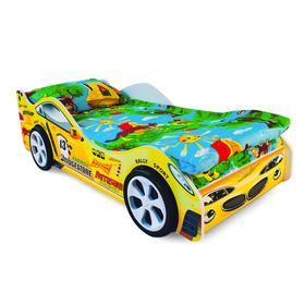 Детская кровать-машина «Пламя» Ош