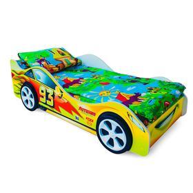 Детская кровать-машина «Тачка желтая» Ош