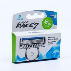 Набор Dorco PACE7  4 кассеты, 7 лезвий