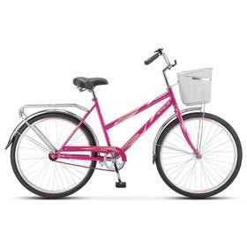 """Велосипед 26"""" Stels Navigator-200 Lady, Z010, цвет малиновый"""