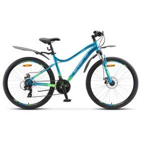 Велосипед 26' Stels Miss -5100 MD, V040, цвет морская волна, размер 15' Ош