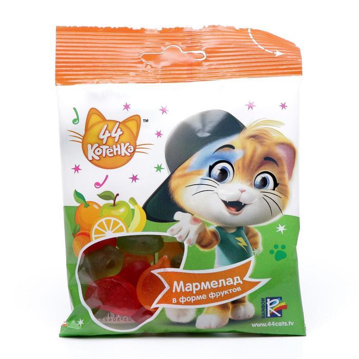 44 CATS Мармелад жевательный Vitafruit 6/15, 65г.