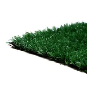 Газон искусственный, ворс 10 мм, 2 × 1 м, тёмно-зелёный Ош
