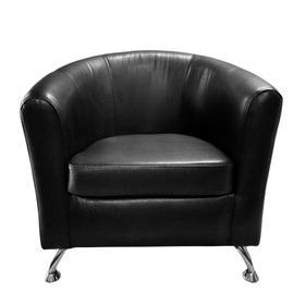 """Кресло """"Во"""" экокожа TEOS BLACK"""