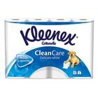 Туалетная бумага Kleenex Delicate White, 2 слоя, 12 рулона