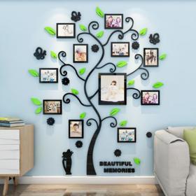 купить Декор настенный с фоторамками Воспоминания, 130 х 106 см