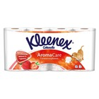 Туалетная бумага Kleenex Aroma Care «Сочная клубника», 3 слоя, 8 рулона