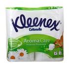 Туалетная бумага Kleenex Aroma Care «Нежная ромашка», 3 слоя, 4 рулона