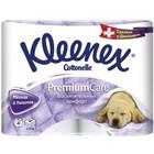Туалетная бумага Kleenex Premium Comfort, 3 слоя, 4 рулона