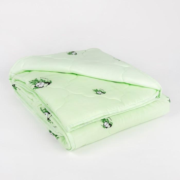 "Одеяло облегчённое Адамас ""Бамбук"", размер 140х205 ± 5 см, 200гр/м2, чехол п/э"